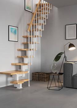 Verwonderend Weinig plaats, weinig ruimte? Ontdek 3 plaatsbesparende trappen QF-45