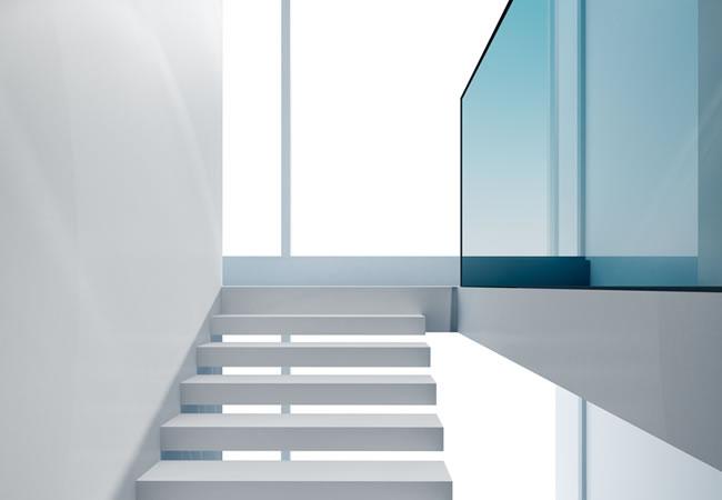 Zwevende Trap Veiligheid : Designtrap op maat laten maken prijs tips inspiratie foto s